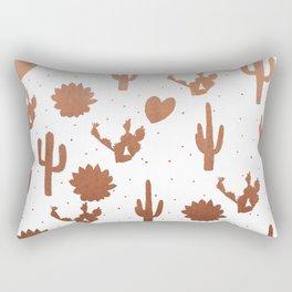 Copper Cacus Rectangular Pillow