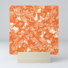 Minimal Shapes Peach Orange Skintones Abstract Pattern Digital Art Print Art Print Mini Art Print