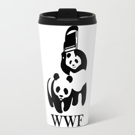 WWF Parody Travel Mug