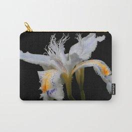 Elegant Iris Japonica / Fringed Iris Flower Carry-All Pouch