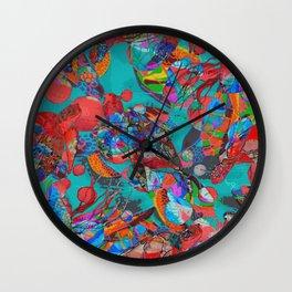 Sea Turtle Rhapsody Wall Clock