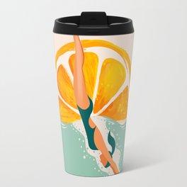 Girl Dive Travel Mug