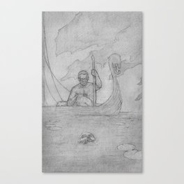 Fear not the Ferryman Canvas Print