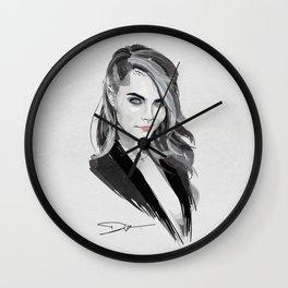 Cara Delevingne Wall Clock