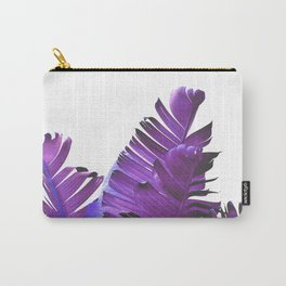 Banana Leaves (Purple) Carry-All Pouch