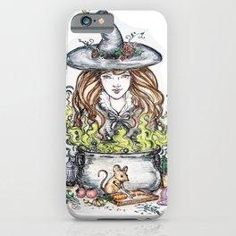 Good witch's kitchen iPhone Case