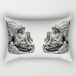 Neanderthal Skull Rectangular Pillow