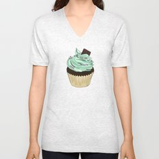 Spongy Cupcake Unisex V-Neck