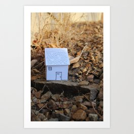 Travel House~3# Art Print