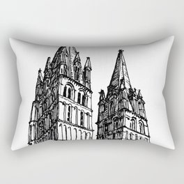 church of the survivor Rectangular Pillow