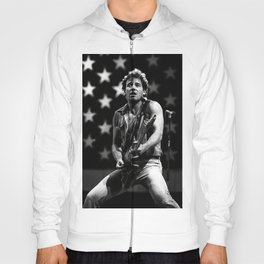 Bruce Springstee-n born in the USA Gift for Wife Favourite Love song Amercian Music Poster Wallart Iconic Singer Gift for wife Hoody