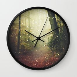 Forest of Miracles and Wonder Wall Clock