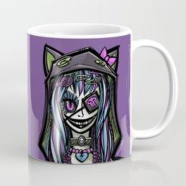 Scary Harajuku Girl Coffee Mug