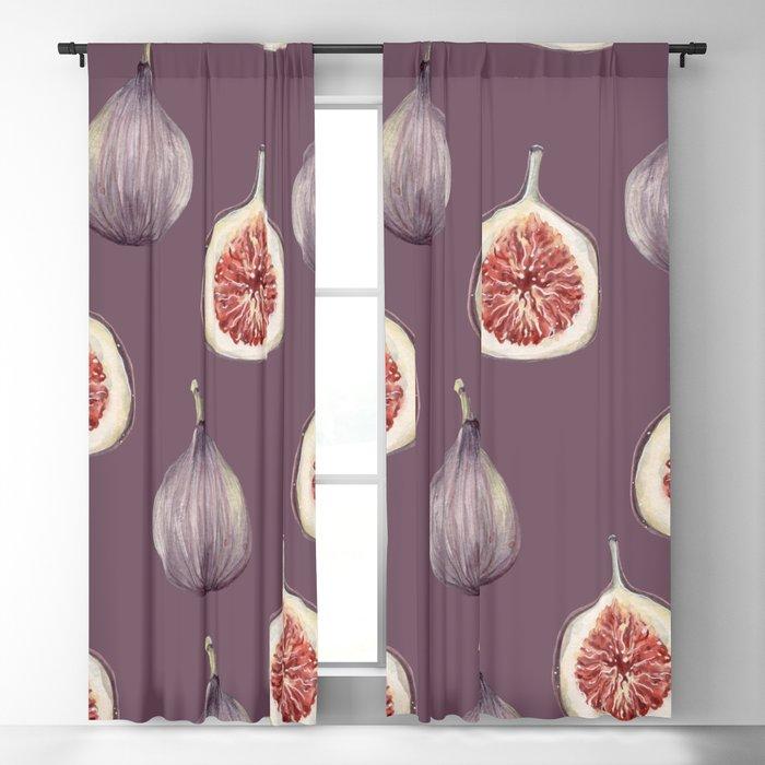 Figs 2  #society6 #buyart Blackout Curtain