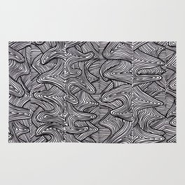Raw Pattern (two) Rug