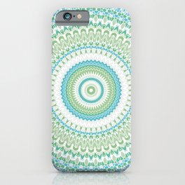 Sea Glass Mandala iPhone Case