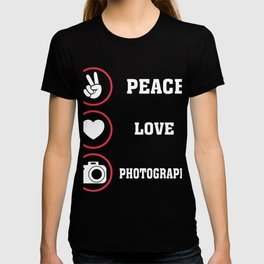 Cute T-Shirt For Photography Lover. T-shirt