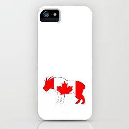 "Goat ""Canada"" iPhone Case"