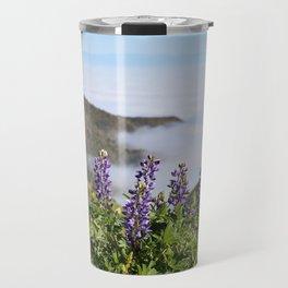 Catalina Lupines Travel Mug