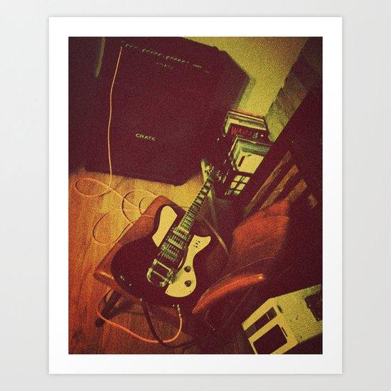 Matilda  |  Electric Guitar Art Print