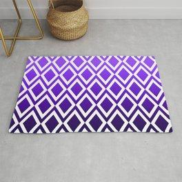 Purple Dipped Diamonds Rug