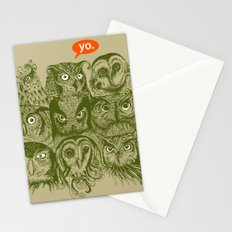Wisdom to the Nines Stationery Cards