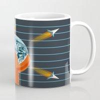 dune Mugs featuring Dune by milanova