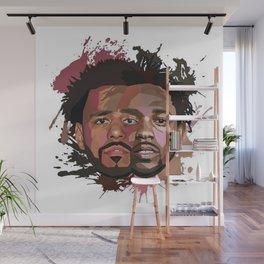 Kendrick Lamar J cole Portrait Wall Mural