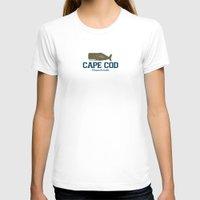 cape cod T-shirts featuring Cape Cod by America Roadside