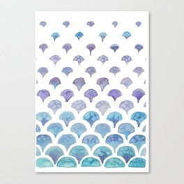 Mermaid Tail Canvas Print