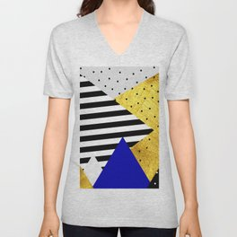 fall abstraction #3 Unisex V-Neck