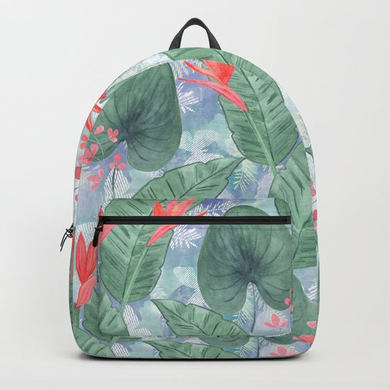 Tropical pattern 4 Backpack