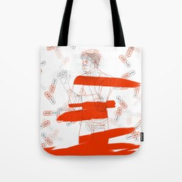 meltdown Tote Bag