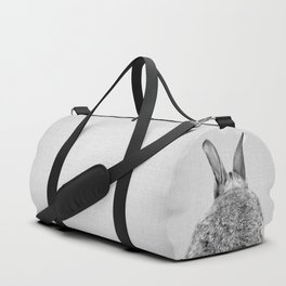 Rabbit Tail - Black & White Sporttaschen