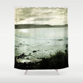 Moody Bay Shower Curtain