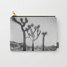 Three Brothers of Joshua Tree Carry-All Pouch