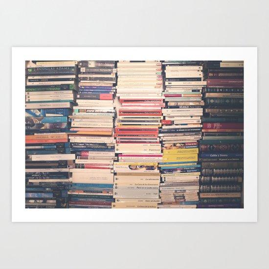 Our Books  Art Print