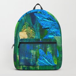 Humming Bird - Blue and Green Backpack