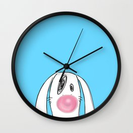 Bubble Gum Wall Clock