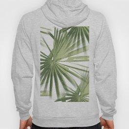 Tropical Beach Palm Vector Hoody