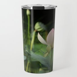 In Delicate Pinks Travel Mug