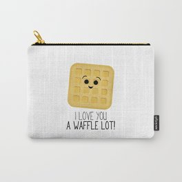 I Love You A Waffle Lot! Carry-All Pouch