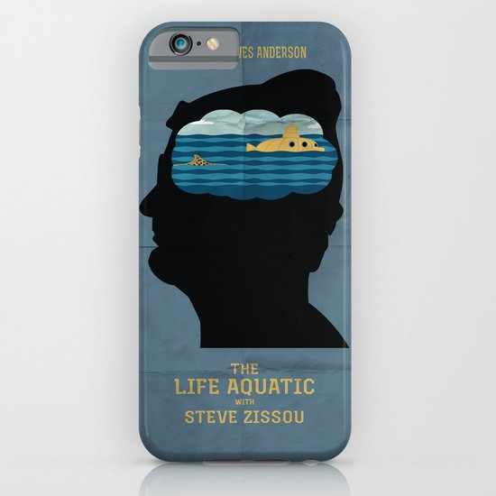 The Life Aquatic Movie Poster iPhone & iPod Case