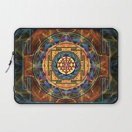 The Sri Yantra - Sacred Geometry Laptop Sleeve