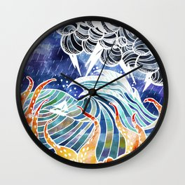 Escaping the storm Wall Clock