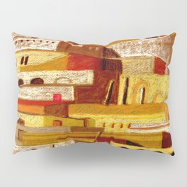The fortress at sunset Pillow Sham