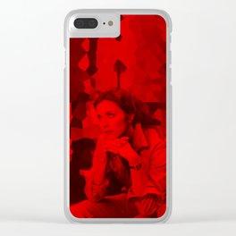 Lynda Carter - Celebrity (Photographic Art) Clear iPhone Case