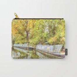 Little Venice London Autumn Art Carry-All Pouch