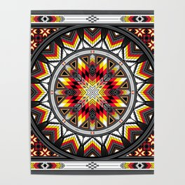 Sacred Places Red Poster