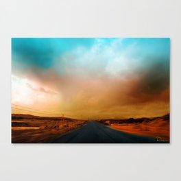 Connemara Roads Canvas Print